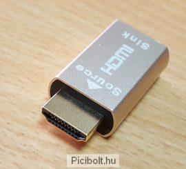 4K VGA HDMI Dummy Virtual képernyő Emulator Adapter