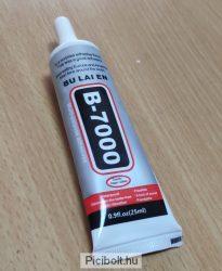B-7000 ragasztó LCD érintő digitizer, fa, porcelán 25ml Erős