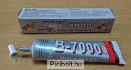 B-7000 ragasztó LCD érintő digitizer 50ml Erős