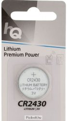 CR2430 lithium battery 3V