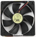 Gembird ventilátor ATX PC házhoz, 120x120mm, 3-pin
