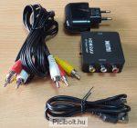 HDMI to RCA AV adapter átalakító