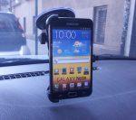 Autós tartó Samsung Galaxy Note Erős