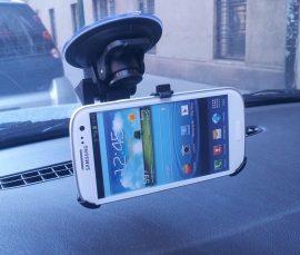 Autós tartó Samsung Galaxy S3 i9300 Erős
