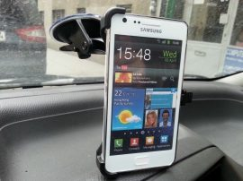 Autós tartó Samsung Galaxy S2 , i9100 stabil Új