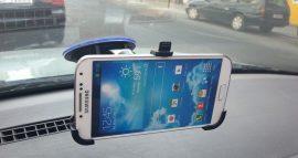 Autós tartó Samsung Galaxy S4 GT-i9505 Erős