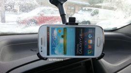 Autós tartó Samsung i8190 Galaxy S3 mini 18cm kar