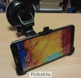 Autós tartó Samsung Galaxy Note3 N9005 Erős
