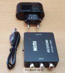 Mini AV to HDMI Video Converter Box AV2HDMI RCA AV HDMI CVBS