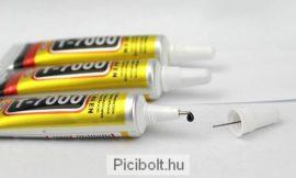 T-7000 ragasztó LCD érintő digitizer, fa, porcelán 15ml Fekete
