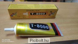 T-8000 ragasztó LCD érintő digitizer, fa, porcelán 110ml Erős