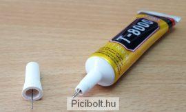 T-8000 ragasztó LCD érintő digitizer, fa, porcelán 15ml Erős