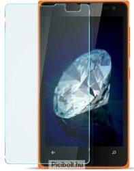 Edzett védő üveg 9H 0.3mm 2.5D hatás Lumia 532 , 435