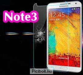 Edzett védő üveg 9H 0.3mm 2.5D hatás Samsung Galaxy Note3 N9005