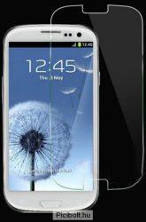 Edzett védő üveg 9H 0.3mm 2.5D hatás Samsung Galaxy S3 i9300