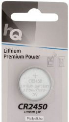 CR2450 lithium battery 3V