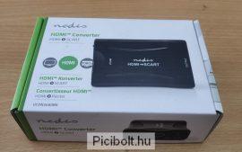 Nedis HDMI to Scart adapter átalakító + Hálózati