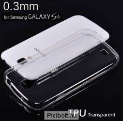 Ultra vékony TPU átlátszó tok Samsung Galaxy S4
