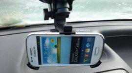 Autós tartó Samsung Galaxy S3 mini i8190 Erős