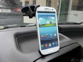 Autós tartó Samsung i9300 Galaxy S III 3 stabil