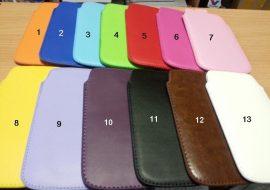 Samsung Galaxy Note N7000 bőr tartó tok