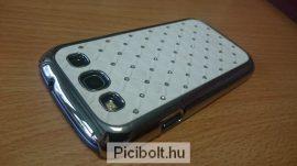 Samsung Galaxy S III i9300 kemény tok köves