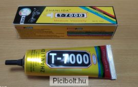 T-7000 ragasztó LCD érintő digitizer, fa, porcelán 110ml Fekete